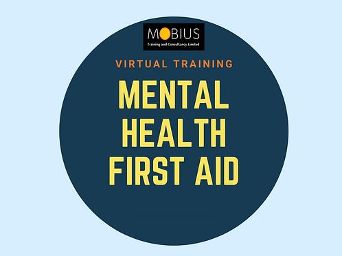 Virtual Mental Health First Aid - 18 & 19 May 2021