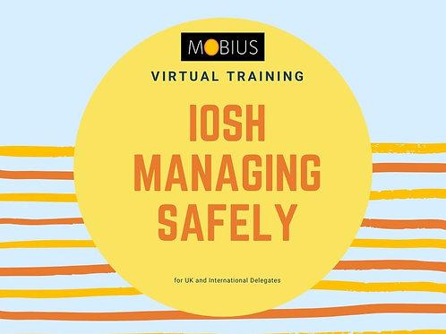 Virtual IOSH Managing Safely - 19 May 2021
