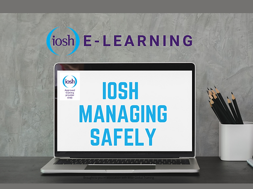E-learning IOSH Managing Safely