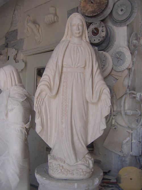 Virgin Mary Statue 04