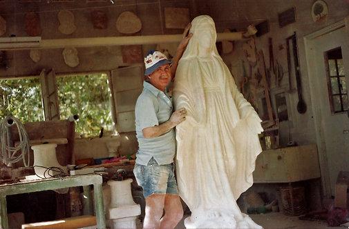 Virgin Mary Statue 05
