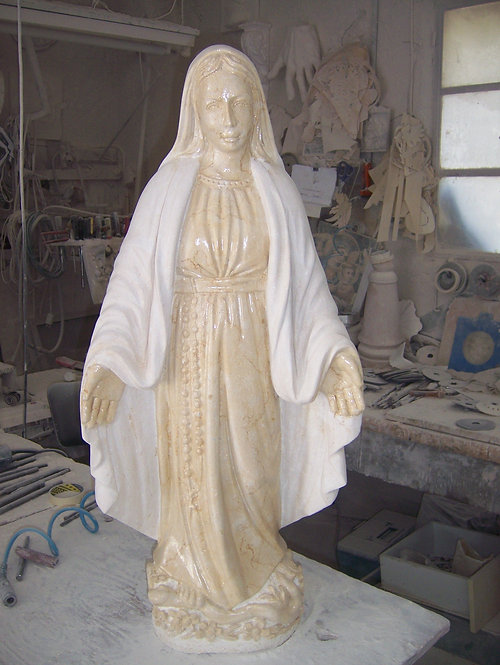 Virgin Mary Statue 06