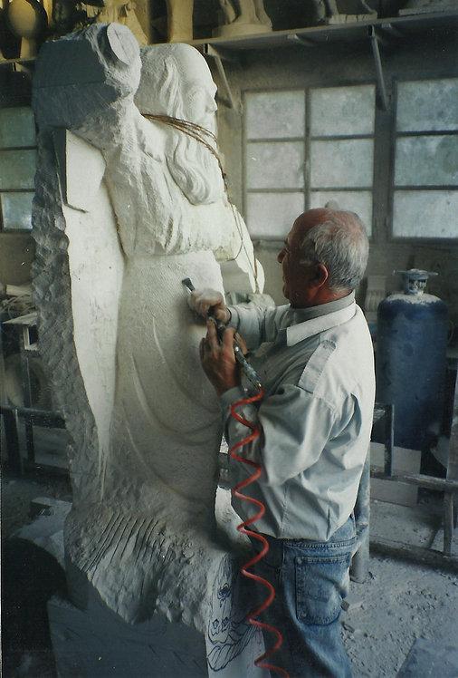 Saint Elias Statue
