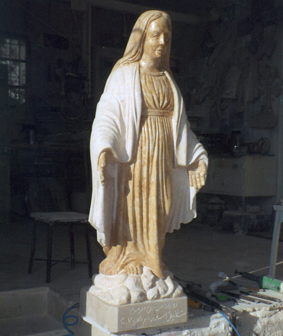 Virgin Mary Statue 02