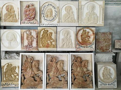 Various Religious Pieces Religious Icons