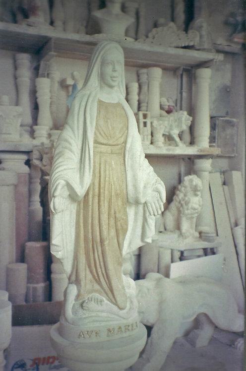Virgin Mary Statue 03