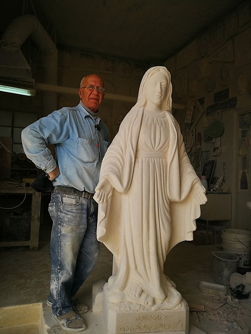 Virgin Mary Statue 01