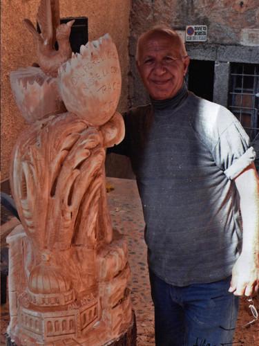 """sculpture symposium """"Arte In Strada"""" 2008"""