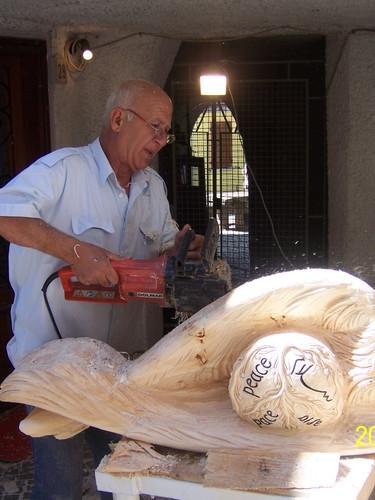 """sculpture symposium """"Arte In Strada"""" 2009"""