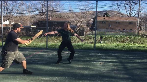 DUEL - Donald VS Sean - Fencing Stance.j