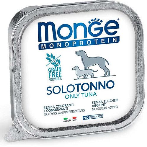 Monge Pate' Monoproteico SOLO Tonno 150 Gr.