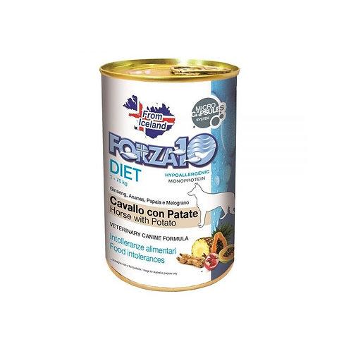 Forza10 - Cane Patè Diet Cavallo con Patate 400 g