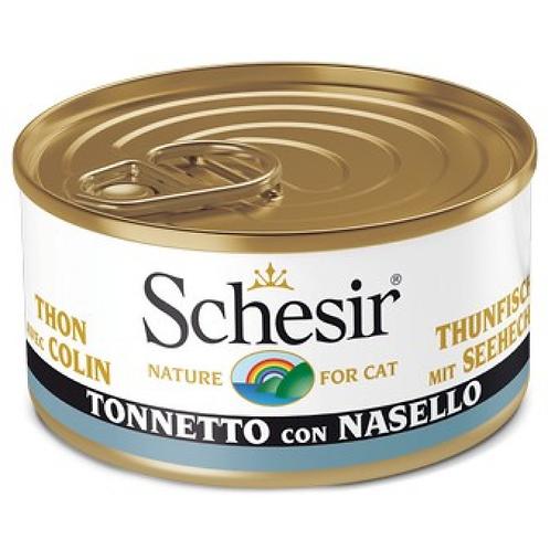 Schesir - Tonnetto con Nasello in Gelatina 85 Gr.