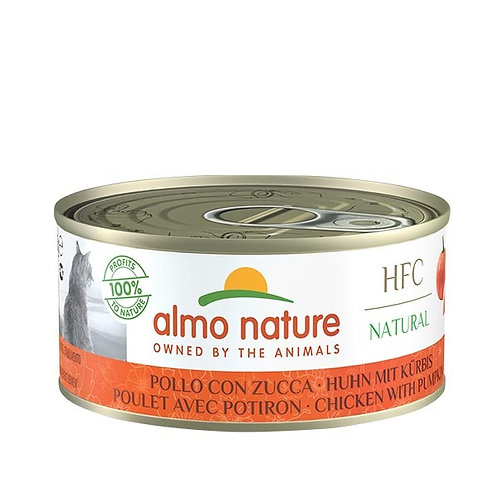 Almo Nature - HFC Natural Pollo con Zucca 150 Gr.