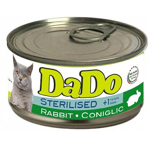 Dado Cat Sterilizzato Patè al Coniglio 85 Gr.