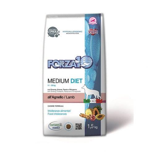 Forza10 - Medium Diet all'Agnello 1.5 Kg.