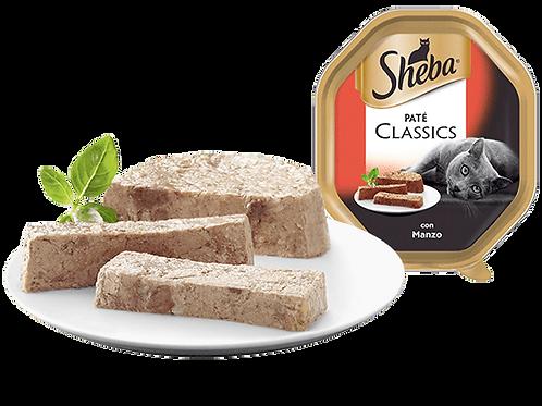 Sheba Classic Paté con Manzo 85 Gr.