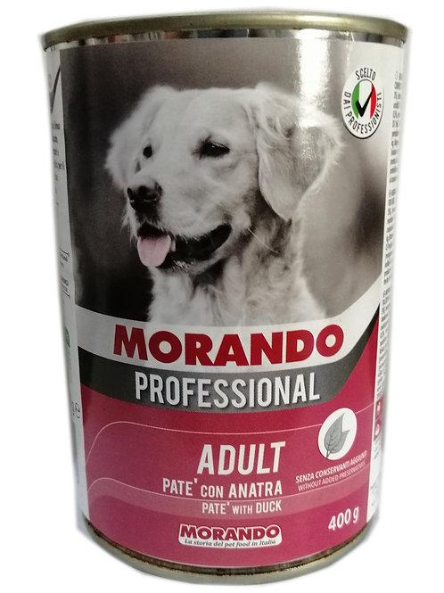 Morando Professional Adult, Patè con Anatra 400 Gr.