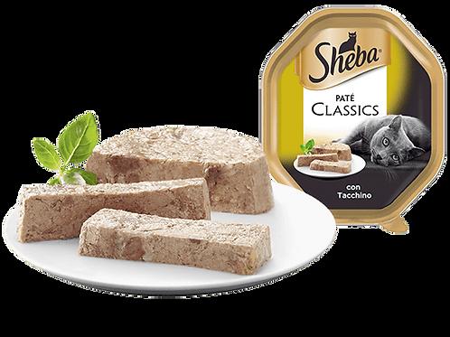 Sheba Classic Paté con Tacchino 85 Gr.