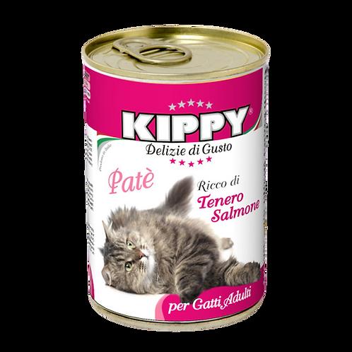 Kippy Gatto Adult Patè con Tenero Salmone 400 Gr.