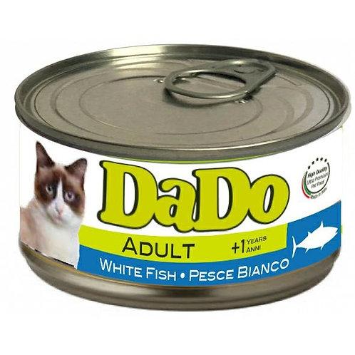 Dado Cat Adult Patè al Pesce Bianco 85 Gr.