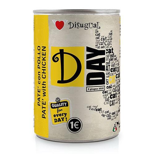Disugual D Day Pate' con Pollo 400 Gr.