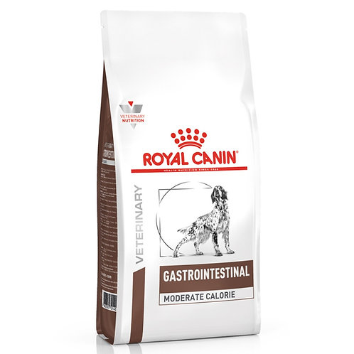 Royal Canin Cane Veterinary Gastrointestinal Moderate Calorie  2 Kg.