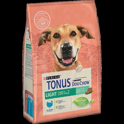 TONUS DOG CHOW Adult Light Cane Crocchette con Tacchino 2,5 Kg.