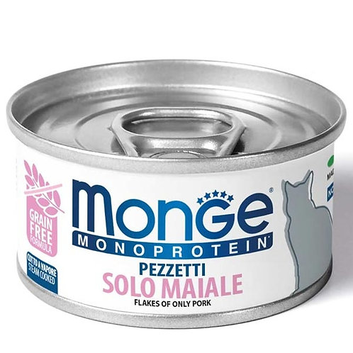 Monge - Monoproteico Pezzetti Solo Maiale
