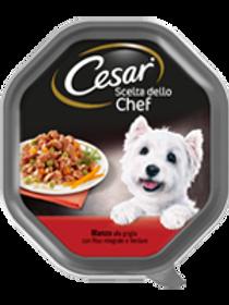 Cesar Scelta dello Chef con Manzo, Verdure e Riso in salsa 150 Gr.