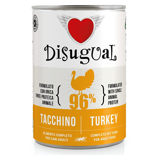 DISUGUAL Adult All Breeds Monoproteico Ipoallergenico Tacchino 400GR