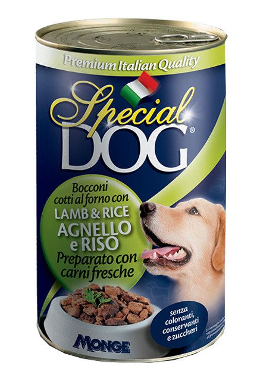 Special Dog Bocconi con Agnello e Riso 1275 Gr.