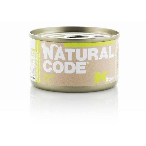 Natural Code - Kitten Pollo  85 Gr.