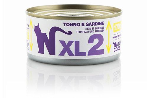 Natural Code Gatto Adult XL2 Tonno e Sardine 170 Gr.