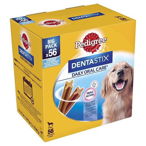 Pedigree Dentastix Snack per l'Igiene Orale (Cane Large +25 kg), 56 Pezzi