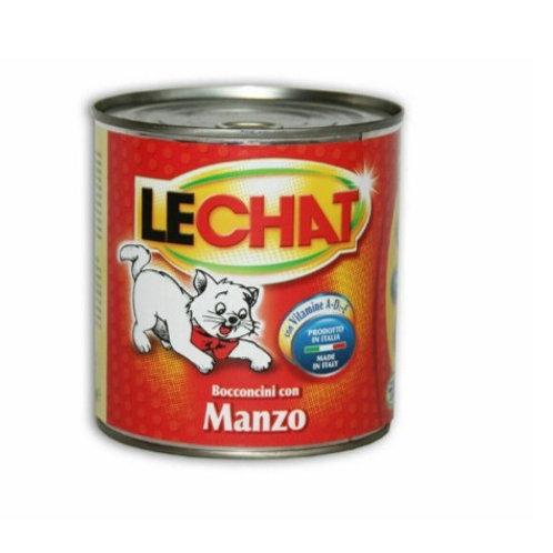 LeChat Bocconcini con Manzo 720 Gr.