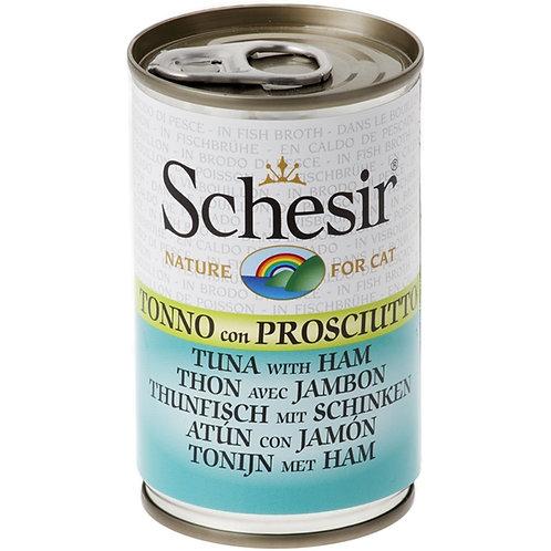 Schesir - Tonnetto con Prosciutto in Brodo di Cottura 140 Gr.
