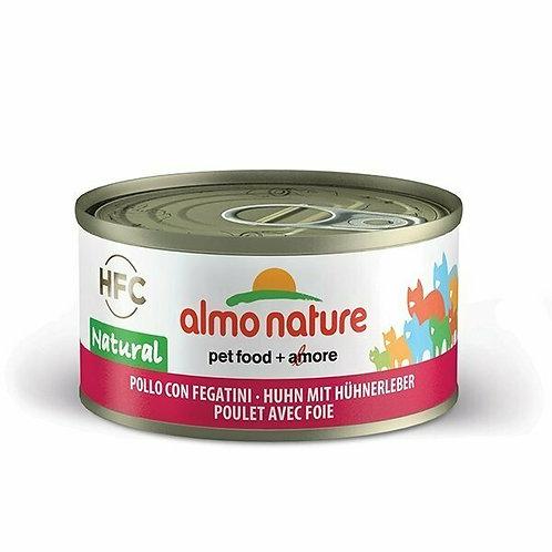 Almo Nature HFC Natural Pollo con Fegatini 70 gr