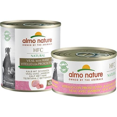 Almo Nature - HFC Natural Vitello con Prosciutto 95 Gr.