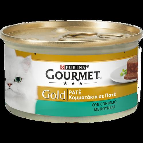 GOURMET Gold Gatto Paté con Coniglio 85Gr.