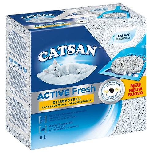 Catsan Active Fresh Lettiera Agglomerante 8 Lt.