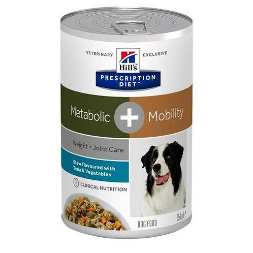 HILL'S Prescription Diet Metabolic + Mobility - cibo umido per cani 354 g