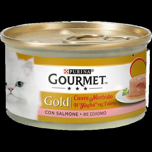GOURMET Gold Cuore Morbido con Salmone 85 Gr.