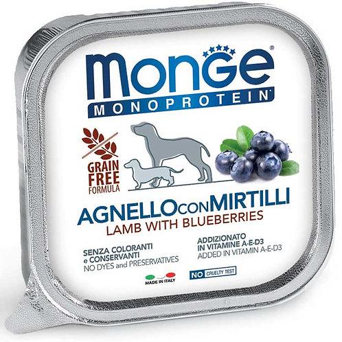 Monge Pate' Monoproteico Agnello con Mirtilli 150 Gr.