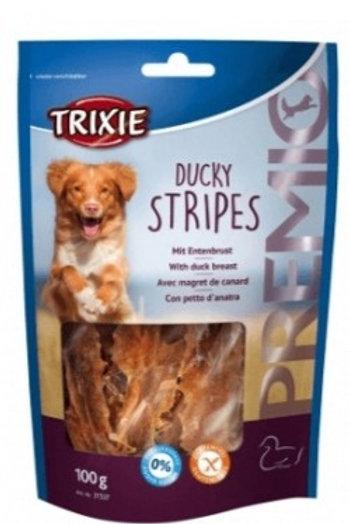 Trixie Cane Premio Stripes con petto d'Anatra 100 Gr.