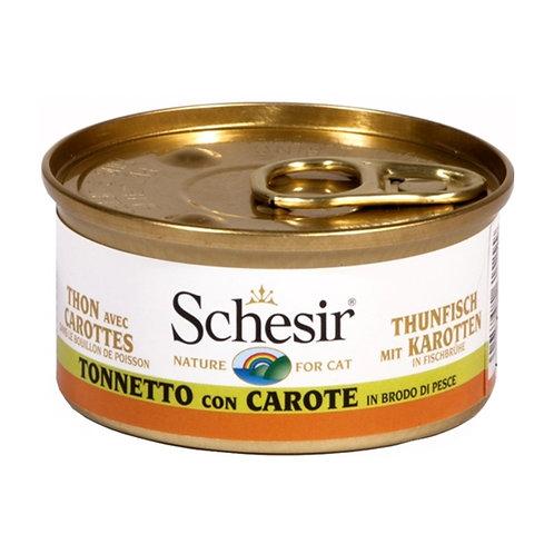 Schesir - Tonnetto con Carote in Brodo di Cottura 70 Gr.