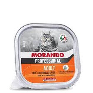 Morando Professional Adult Patè con Agnello e Riso 100 Gr.