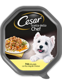 Cesar Scelta dello Chef con Pollo, Verdure e Riso in salsa 150 Gr.