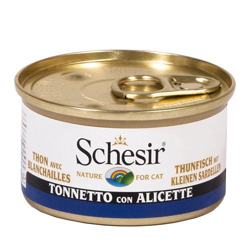 Schesir - Tonnetto con Alicette in Gelatina 85 Gr.