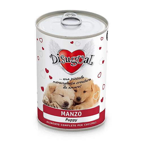 Disugual Patè Monoproteico Puppy con Manzo 400 Gr.